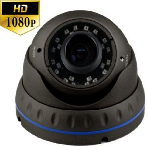 Varifocal antivandal dome camera with night vision